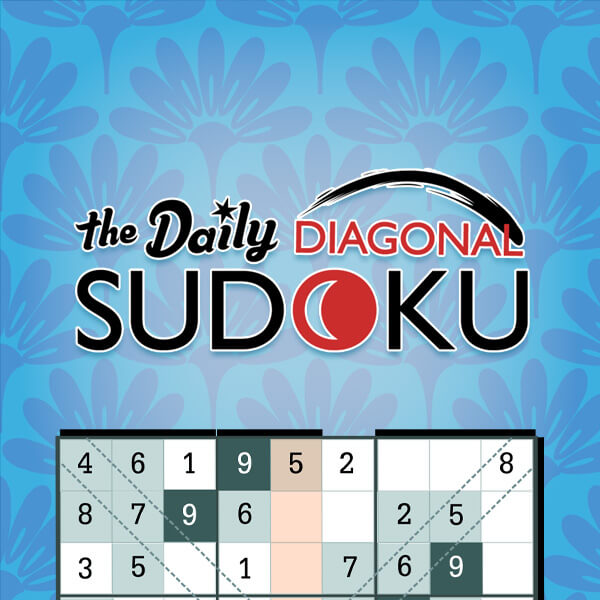 The Daily Diagonal Sudoku