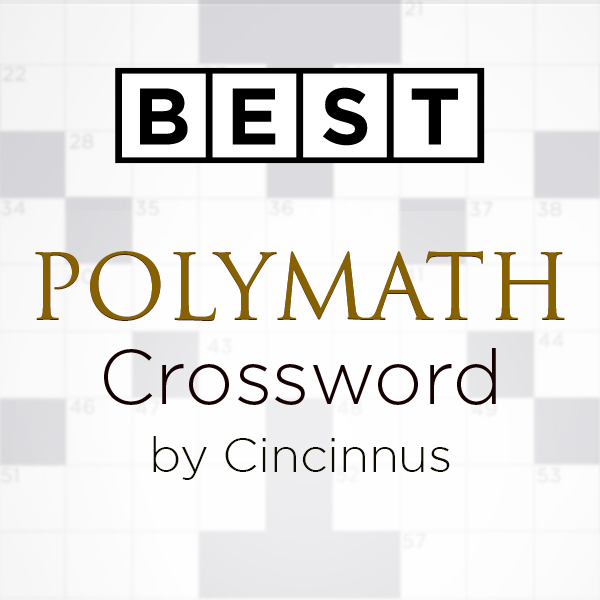 Best Polymath Crossword by Cincinnus