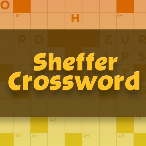 Sheffer Crossword