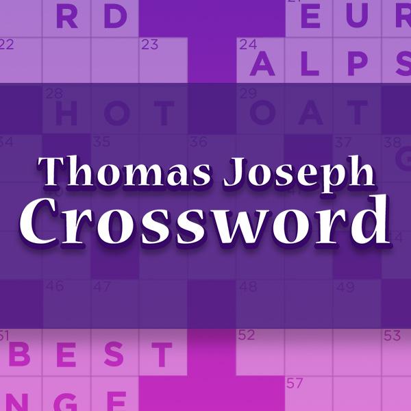 Thomas Joseph Crossword